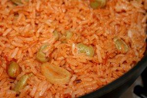 אורז אדום עם פול - צילום: שפרה נחום