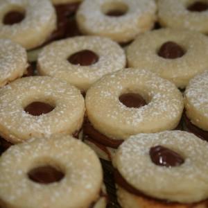 עוגיות סנדוויץ נוטלה