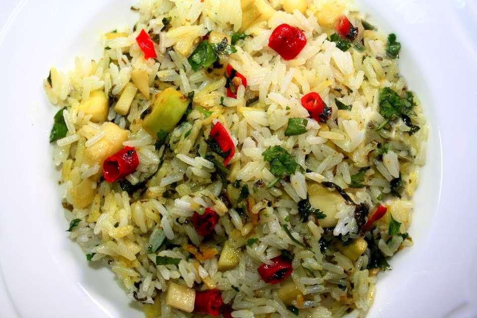 אורז בחריפות מעודנת