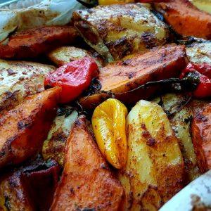 עוף תפוחי אדמה טינקרבל וטימין