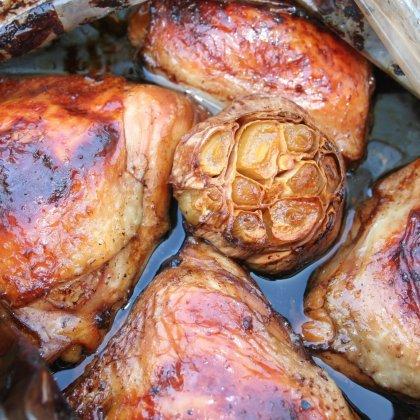 עוף ברוטב סויה ודבש