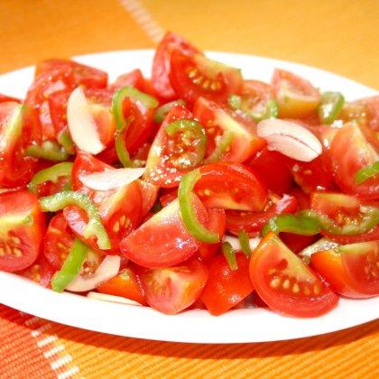 סלט עגבניות אש