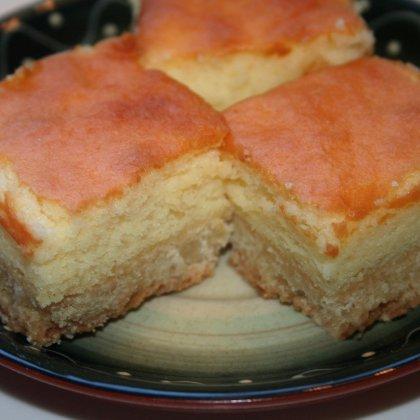עוגה עם קציפת לימון