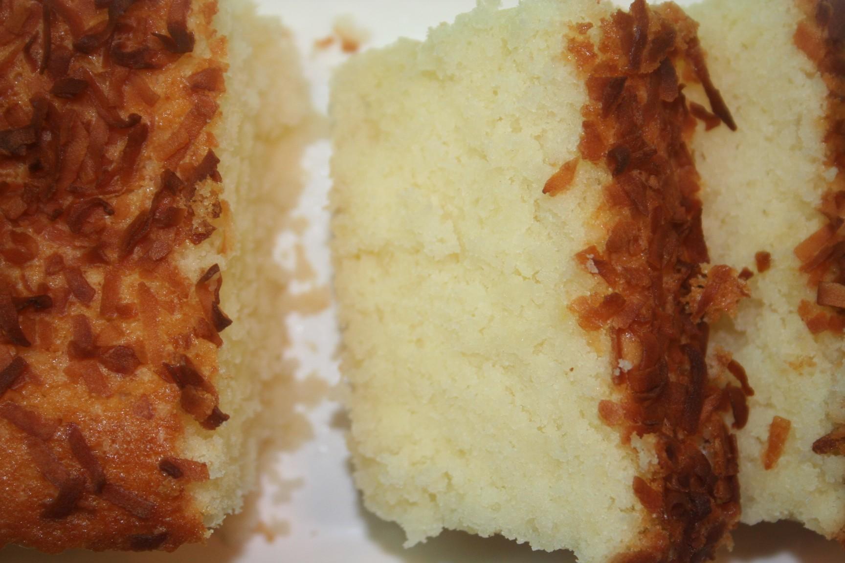 עוגה בחושה יוגורט קוקוס לימון