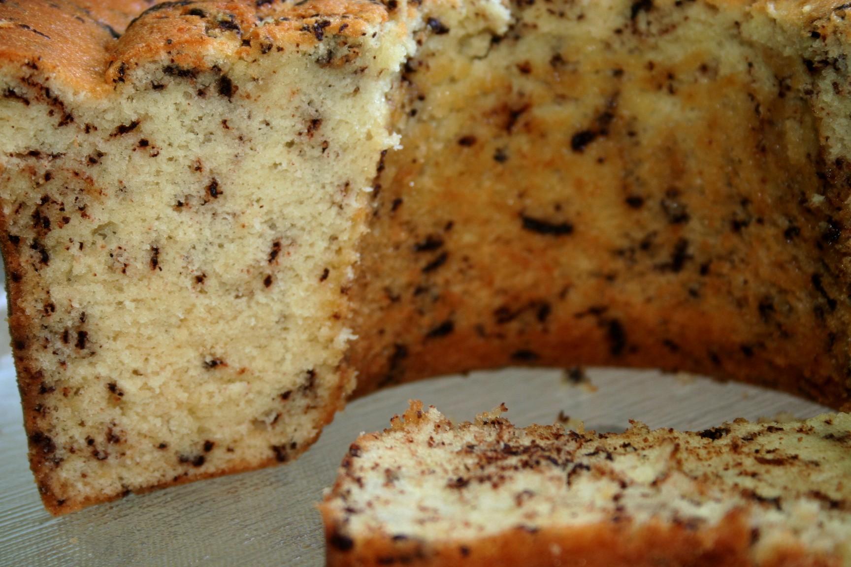 עוגת וניל מנומשת