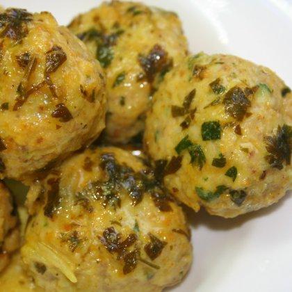 כדורי עוף ברוטב דבש וחרדל