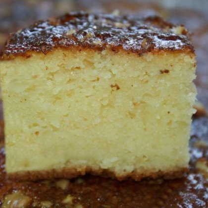 עוגת מייפל פרווה רכה ועסיסית