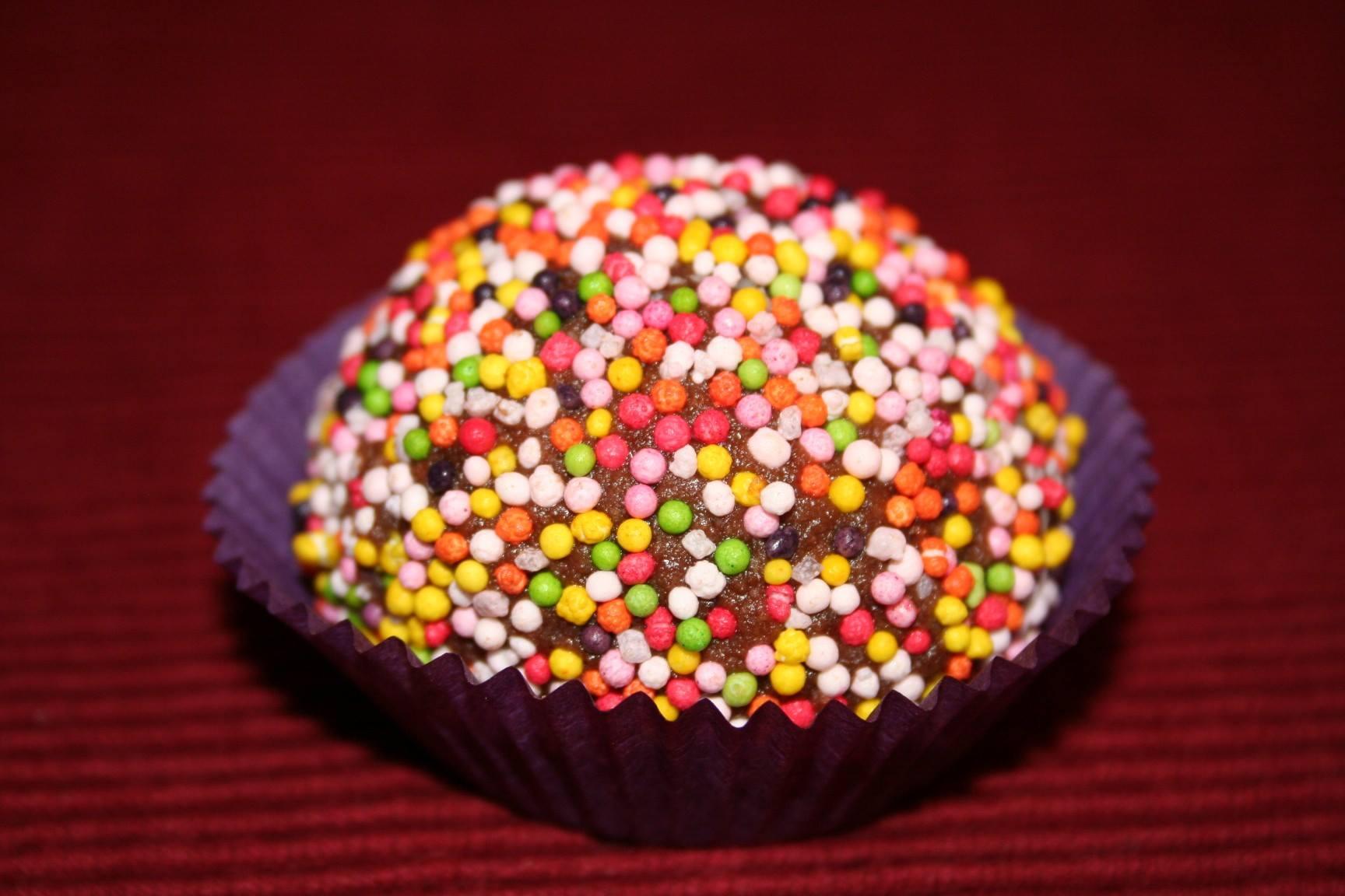 כדורי שוקולד פרווה