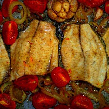 פילה אמנון בזעפרן בתנור
