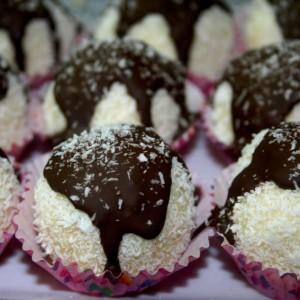 רפאלו עם פסגות שוקולד