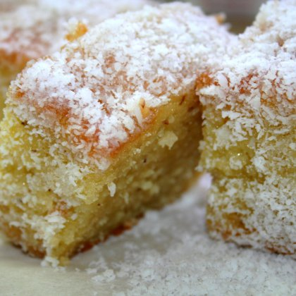 עוגה בלונדינית בלי מיקסר
