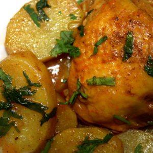 מתכון לצלי עוף ותפוחי אדמה מהמטבח התימני