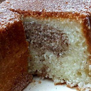 עוגת שיש קינמון רכה ועסיסית