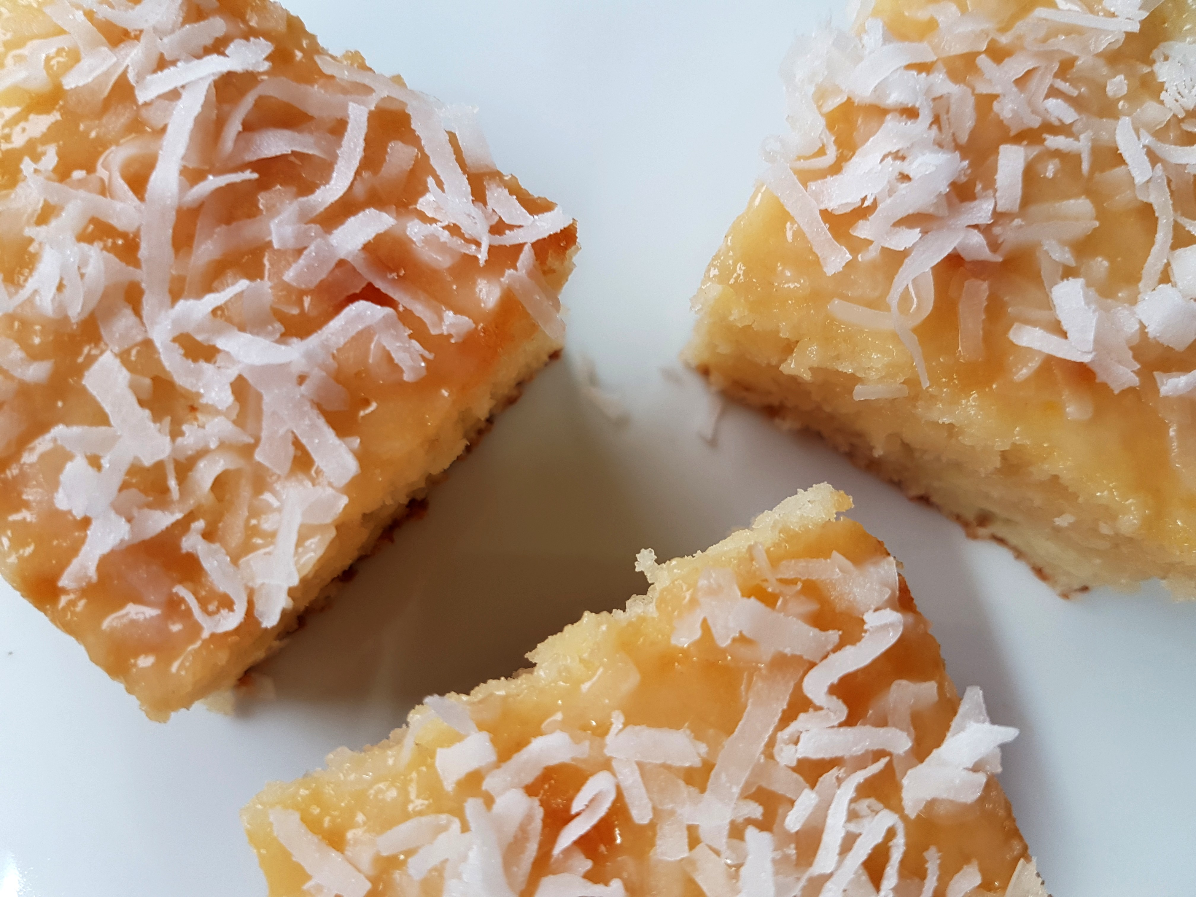 עוגת קוקוס וניל בלי מיקסר