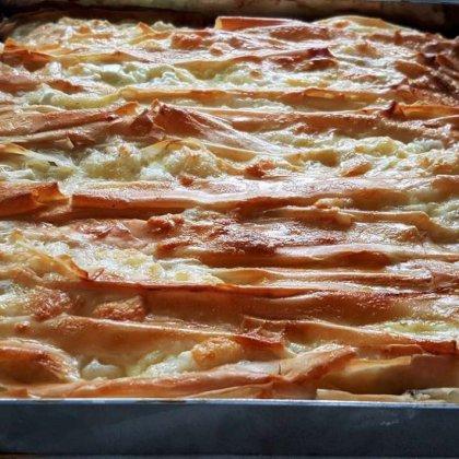 אקורדיון פילו במילוי גבינה בולגרית ורוקפור