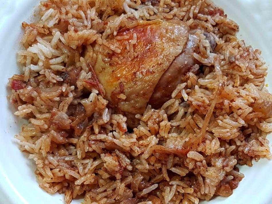 פלאו בג'יג מהמטבח העיראקי