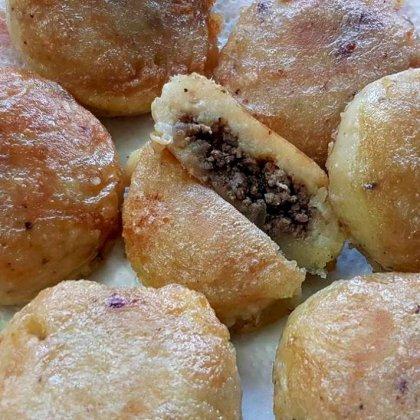 קובה פטטה במילוי בשר מהמטבח העיראקי