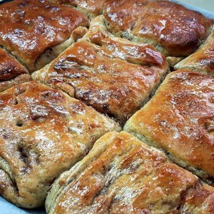 משמנה / משימנה – מאפה סוכר וקינמון מהמטבח המרוקאי (Msemmne)