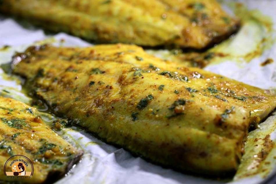 דג אמנון בתנור מהמטבח התימני