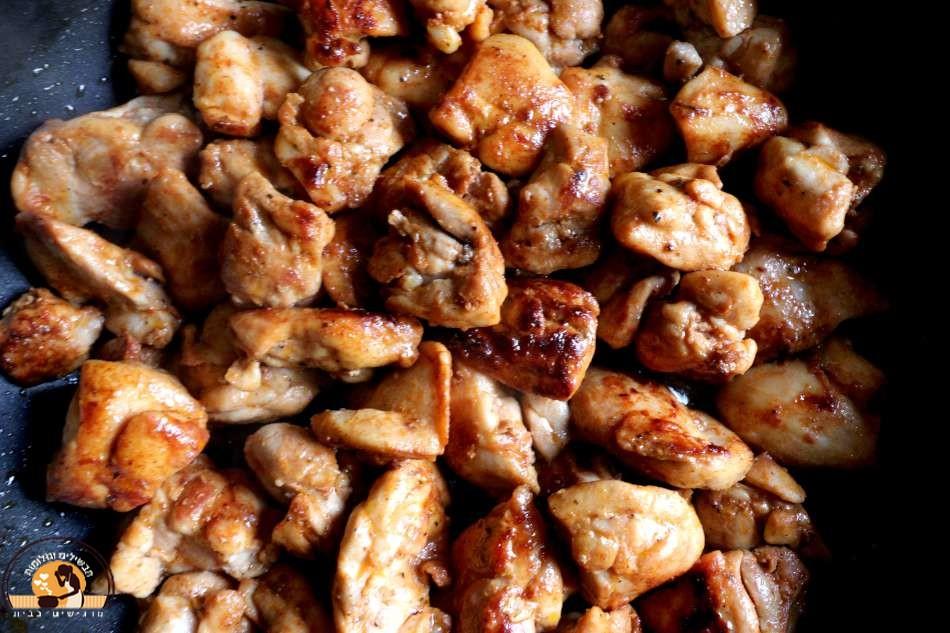 פרגיות עוף צרובות בטעם גריל