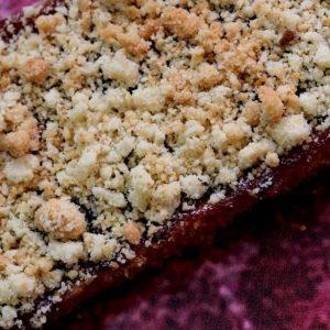 עוגת ריבה ופירורים