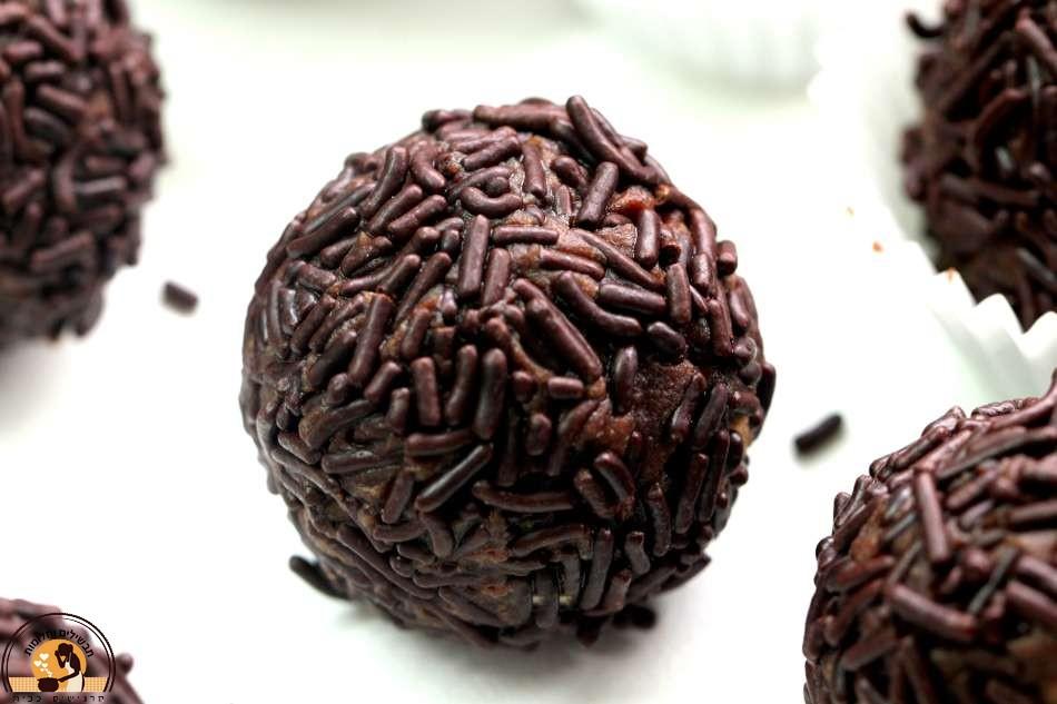 כדורי שוקולד ואספרסו