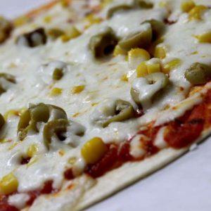 פיצה טורטיה בתנור