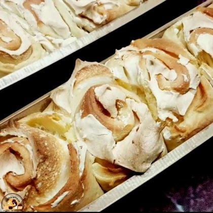 עוגת שושני קצף