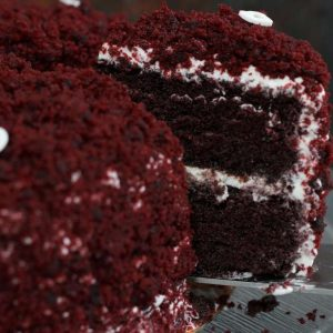 עוגת קטיפה אדומה / red velvet