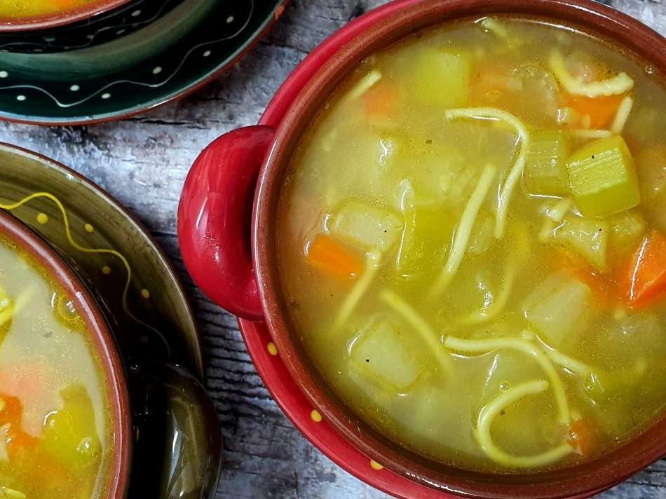 מרק ירקות עם מרכיב סודי