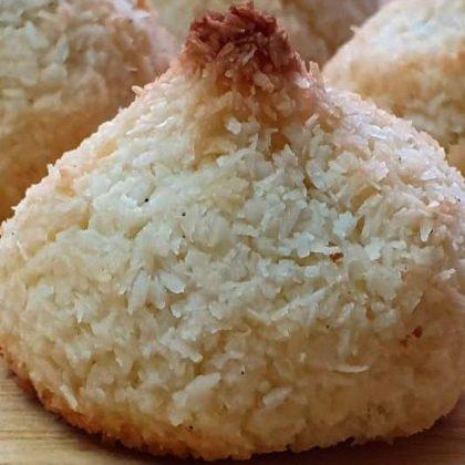 עוגיות קוקוס פרווה ללא גלוטן