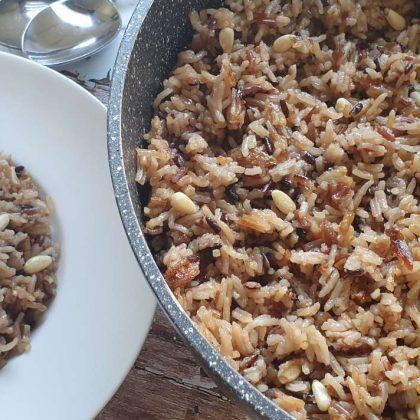 אורז מיקס וריבת בצל